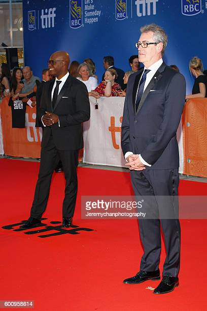 TIFF CoDirectors Cameron Bailey and Piers Handling attend the 'The Magnificent Seven' premiere held at Roy Thomson Hall during the Toronto...