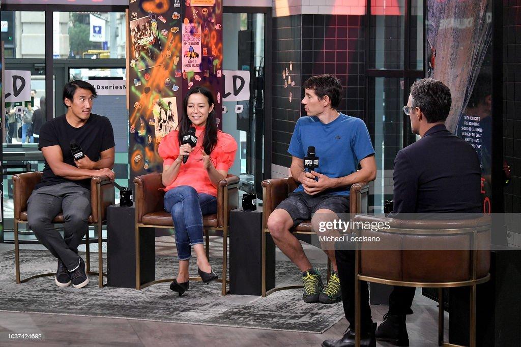 Celebrities Visit Build - September 21, 2018 : News Photo