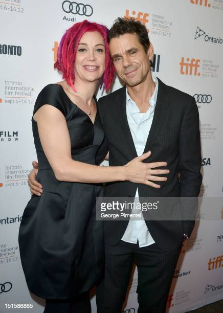 Codirectors Lana Wachowski and Tom Tykwer attend the Cloud Atlas premiere during the 2012 Toronto International Film Festival at the Princess of...