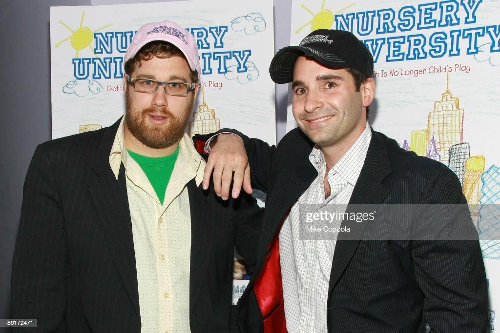 Co Directors Matthew Makar And Marc H Simon Attend The Nursery University