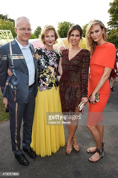 CoDirectors of the Serpentine Gallery HansUlrich Obrist and Julia PeytonJones Dasha Zhukova and Karlie Kloss attend The Serpentine Gallery summer...