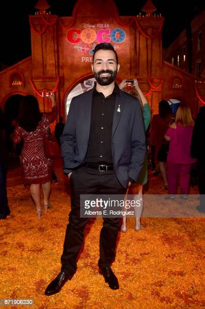CoDirector/screenwriter Adrian Molina at the US Premiere of DisneyPixar's 'Coco' at the El Capitan Theatre on November 8 in Hollywood California