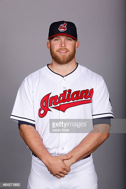 Cody Allen of the Cleveland Indians poses during Photo Day on Thursday February 26 2014 at Goodyear Ballpark in Goodyear Arizona