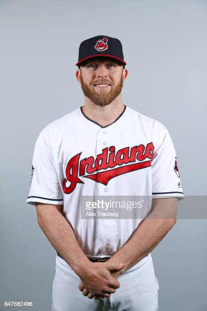 Cody Allen of the Cleveland Indians poses during Photo Day on Friday February 24 2017 at Goodyear Ballpark in Goodyear Arizona