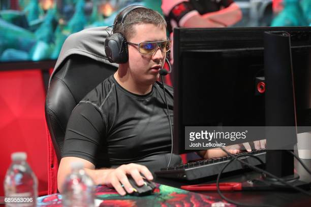 Cody Altman of Maryville University is seen in the League of Legends College Championship Game between University of Toronto and Maryville University...