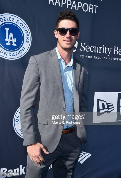Cody Bellinger attends the Fourth Annual Los Angeles Dodgers Foundation Blue Diamond Gala at Dodger Stadium on June 11 2018 in Los Angeles California