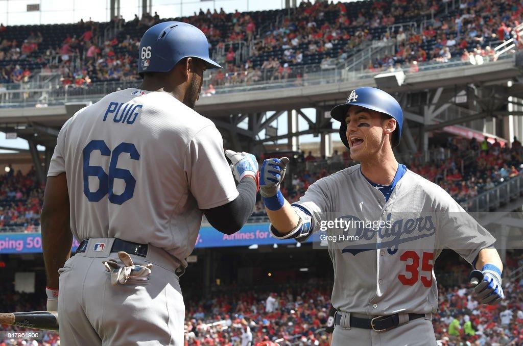 Los Angeles Dodgers v Washington Nationals : News Photo