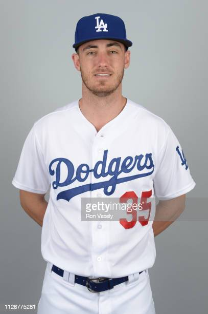 Cody Bellinger of the Los Angeles Dodgers poses during Photo Day on Thursday February 20 2019 at Camelback Ranch in Glendale Arizona