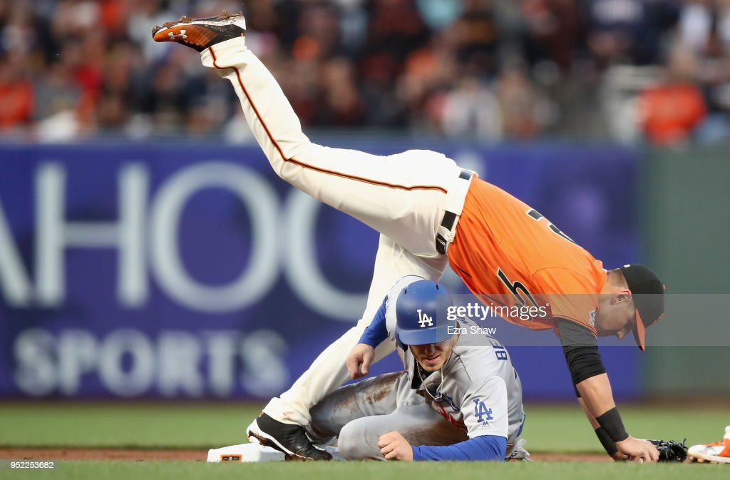 Los Angeles Dodgers v San Franciso Giants