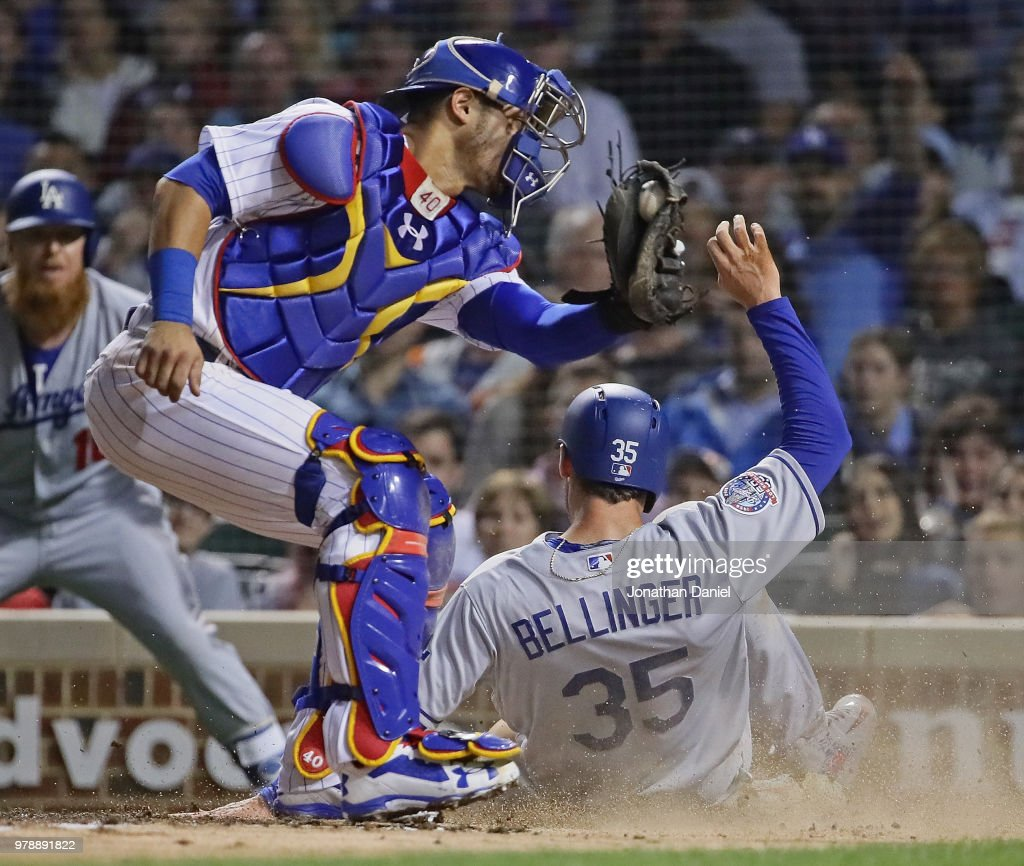 Los Angeles Dodgers v Chicago Cubs - Game Two