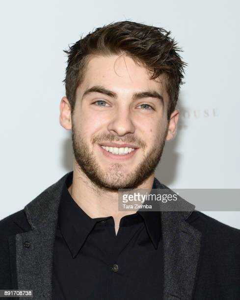Cody Christian attends Bello Magazine's December Issue Launch Party with 'Modern Family' star Nolan Gould at Hills Penthouse on December 12 2017 in...