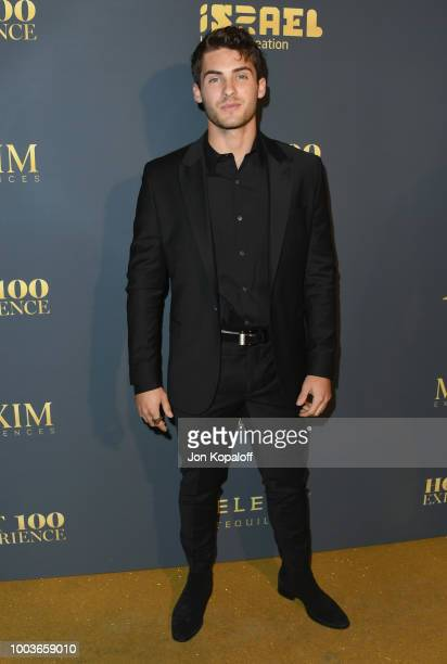Cody Christian attends The Maxim Hot 100 Experience at Hollywood Palladium on July 21, 2018 in Los Angeles, California.