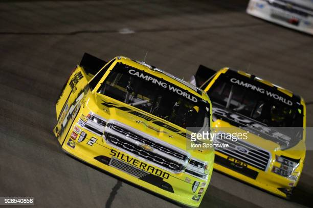 Cody Coughlin GMS Racing Chevrolet Silverado during the Stratosphere 200 NASCAR Camping World Truck Series race on March 2018 at Las Vegas Motor...