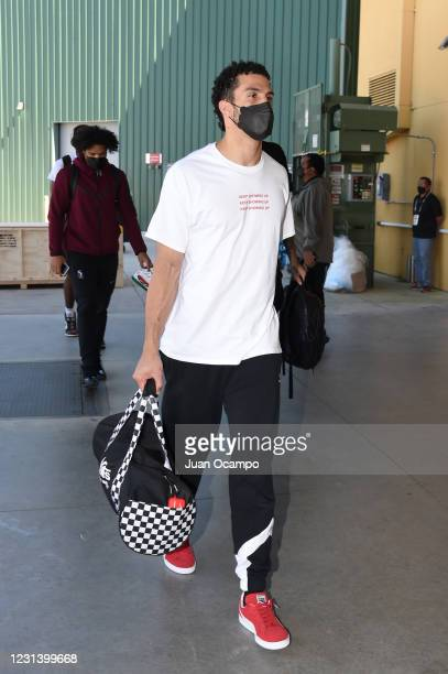 Cody Demps of Team Ignite arrives before the game against the Salt Lake City Stars on February 26, 2021 at AdventHealth Arena in Orlando, Florida....