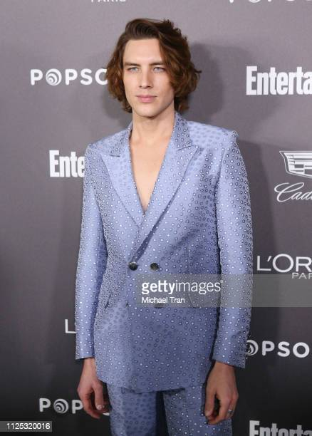 Cody Fern arrives to the Entertainment Weekly PreSAG Party held at Chateau Marmont on January 26 2019 in Los Angeles California