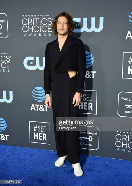 Cody Fern at The 24th Annual Critics' Choice Awards at Barker Hangar on January 13 2019 in Santa Monica California