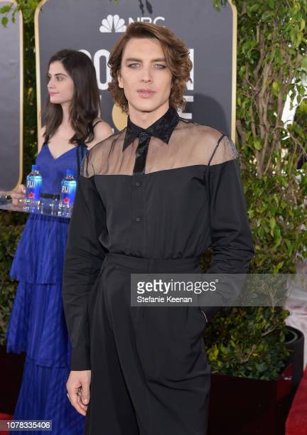 Cody Fern attends FIJI Water at the 76th Annual Golden Globe Awards on January 6 2019 at the Beverly Hilton in Los Angeles California
