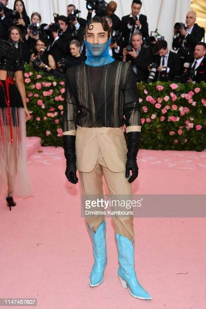Cody Fern attends The 2019 Met Gala Celebrating Camp Notes on Fashion at Metropolitan Museum of Art on May 06 2019 in New York City
