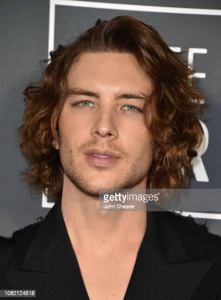 Cody Fern attends the 24th Annual Critics' Choice Awards at Barker Hangar on January 13 2019 in Santa Monica California