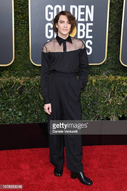 Cody Fern attends the 76th Annual Golden Globe Awards at The Beverly Hilton Hotel on January 6 2019 in Beverly Hills California
