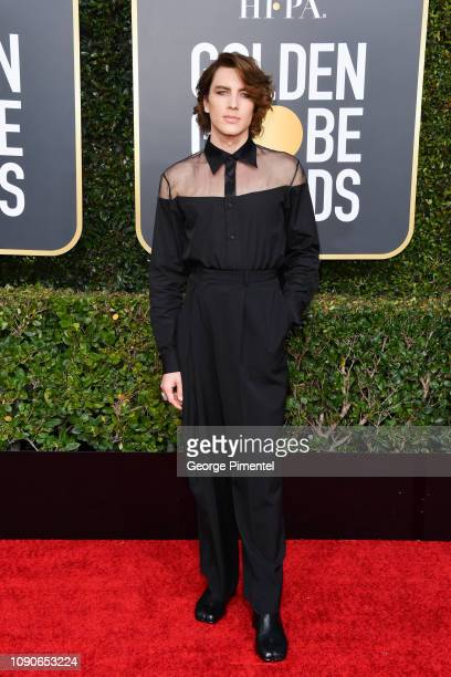 Cody Fern attends the 76th Annual Golden Globe Awards held at The Beverly Hilton Hotel on January 06 2019 in Beverly Hills California