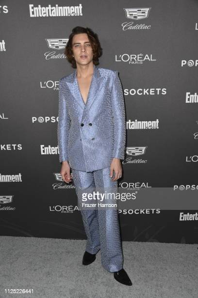 Cody Fern attends the Entertainment Weekly PreSAG Party at Chateau Marmont on January 26 2019 in Los Angeles California