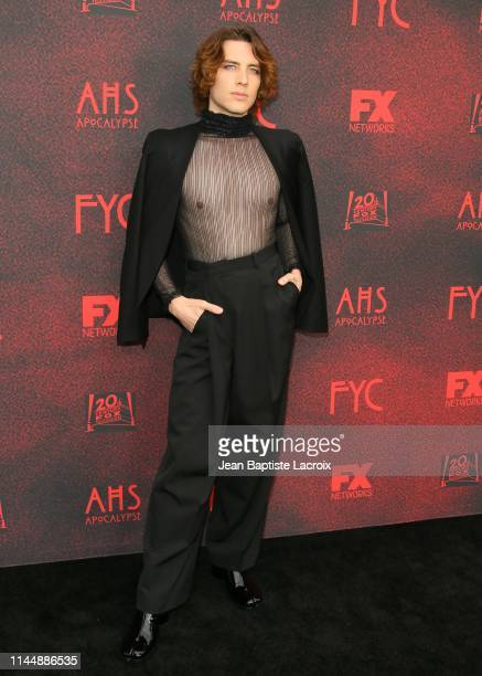 Cody Fern attends the FYC red carpet for FX's American Horror Story Apocalypse at NeueHouse Hollywood on May 18 2019 in Los Angeles California
