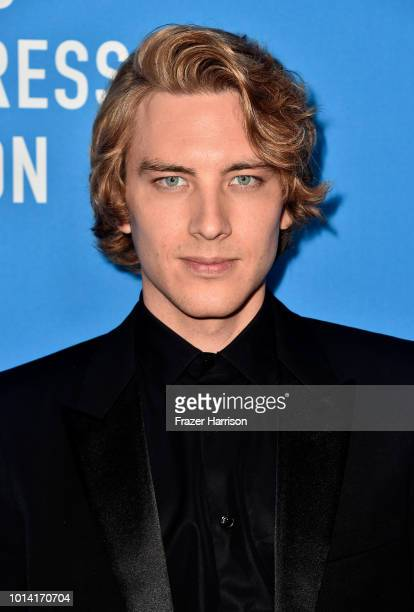 Cody Fern attends the Hollywood Foreign Press Association's Grants Banquet at The Beverly Hilton Hotel on August 9 2018 in Beverly Hills California