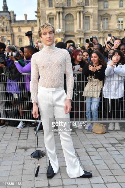 Cody Fern attends the Louis Vuitton Womenswear Spring/Summer 2020 show as part of Paris Fashion Week on October 01 2019 in Paris France