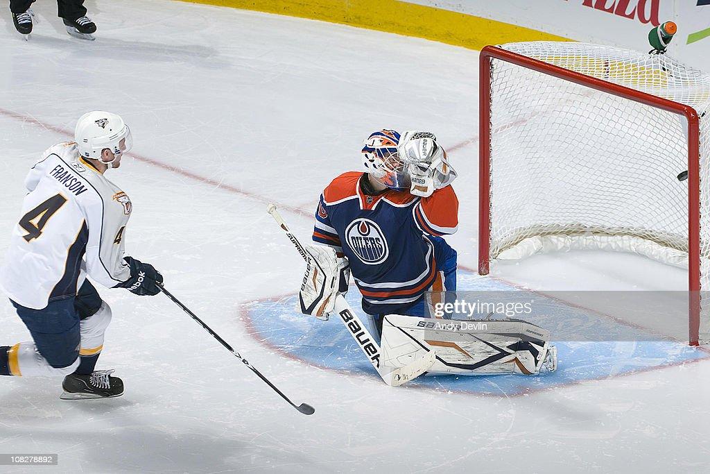 Nashville Predators v Edmonton Oilers
