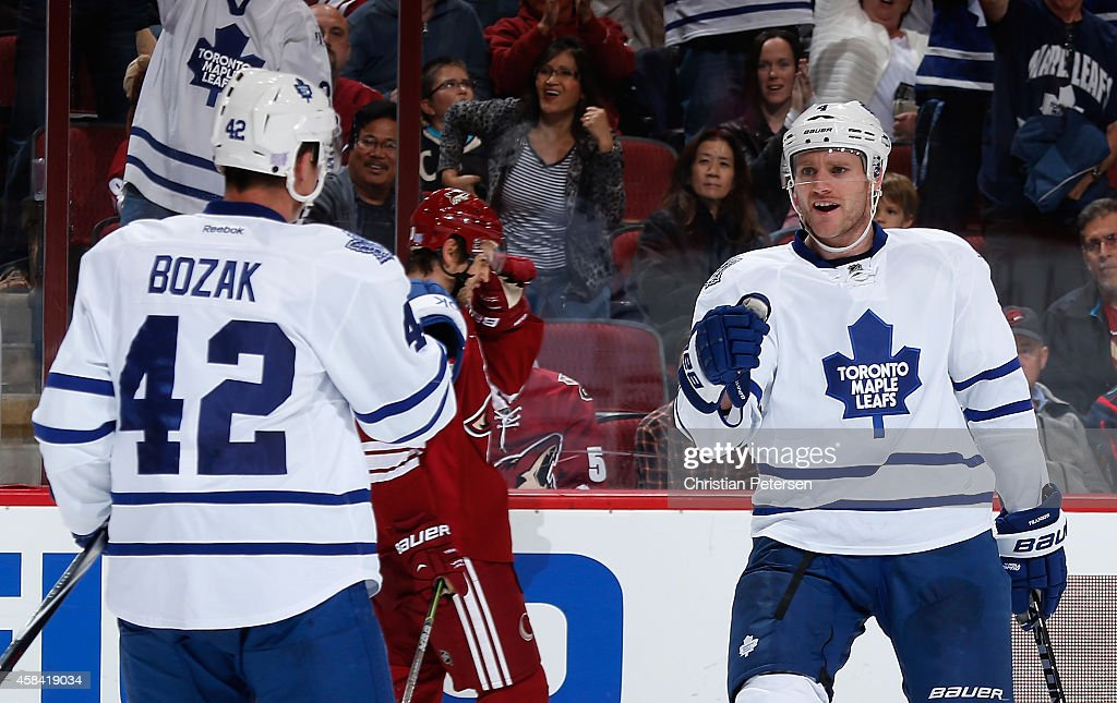 Toronto Maple Leafs v Arizona Coyotes : News Photo