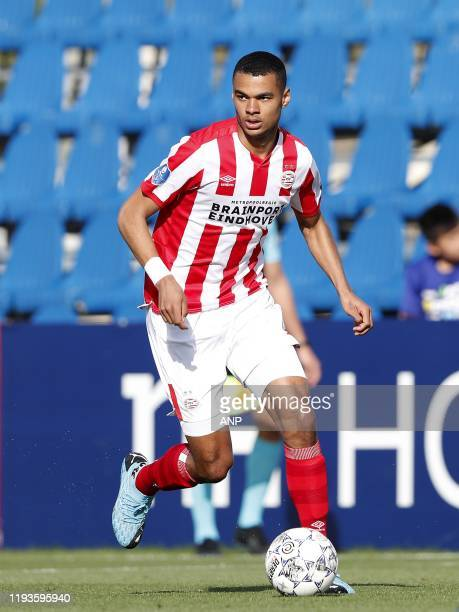 Cody Gapko of PSV during a international friendly match between PSV Eindhoven and KAS Eupen at Aspire Academy on January 11, 2020 in Doha, Qatar