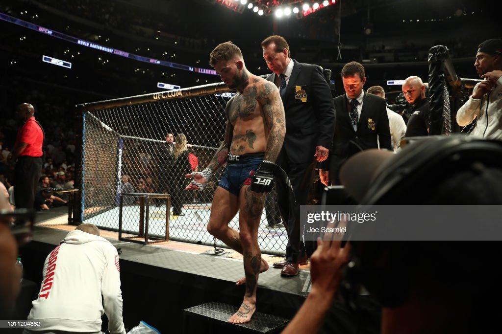 UFC 227 Dillashaw v Garbrandt 2 : News Photo