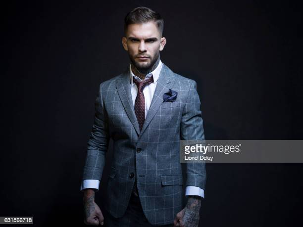 Cody Garbrandt if photographed for Inked Magazine on October 8 2016 in Los Angeles California PUBLISHED IMAGE