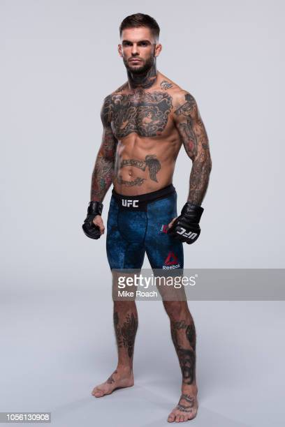 Cody Garbrandt poses for a portrait during a UFC photo session on August 1 2018 in Los Angeles California