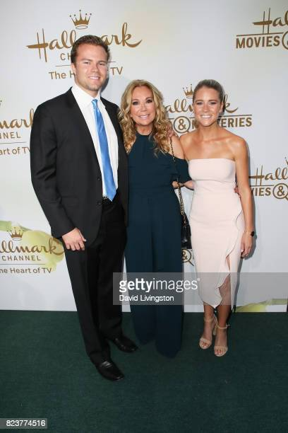 Cody Gifford Kathie Lee Gifford and Cassidy Erin Gifford attend the Hallmark Channel and Hallmark Movies and Mysteries 2017 Summer TCA Tour on July...