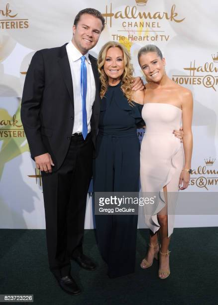 Cody Gifford Kathie Lee Gifford and Cassidy Gifford arrive at the 2017 Summer TCA Tour Hallmark Channel And Hallmark Movies And Mysteries at a...