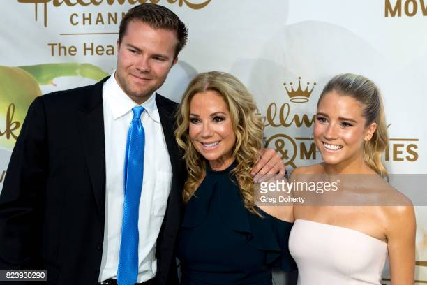 Cody Gifford Kathie Lee Gifford and Cassidy Gifford arrives for the 2017 Summer TCA Tour Hallmark Channel And Hallmark Movies And Mysteries on July...
