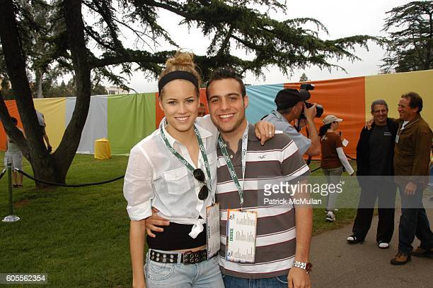 Cody Horn and Richy Rozen attend NRDC's Day of Discovery at Wadsworth Theater Grounds on May 21 2006 in Los Angeles California