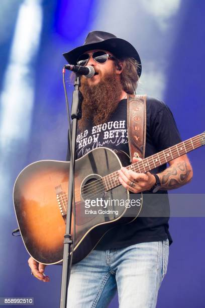 Cody Jinks performs during Austin City Limits Festival at Zilker Park on October 7 2017 in Austin Texas