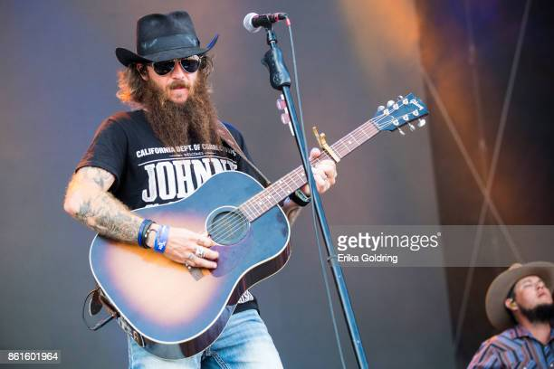 Cody Jinks performs during Austin City Limits Festival at Zilker Park on October 14 2017 in Austin Texas