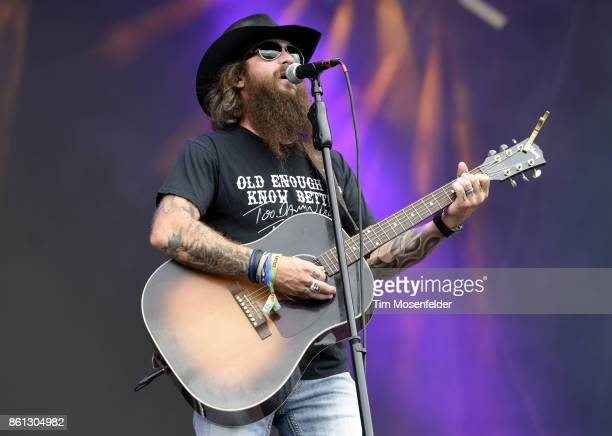 Cody Jinks performs during the Austin City Limits Music Festival at Zilker Park on October 7 2017 in Austin Texas
