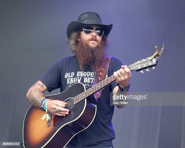 Cody Jinks performs in concert during day two of the first week of Austin City Limits Music Festival at Zilker Park on October 7 2017 in Austin Texas