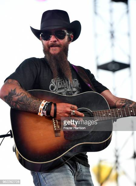 Cody Jinks performs onstage during 2018 Stagecoach California's Country Music Festival at the Empire Polo Field on April 27, 2018 in Indio,...