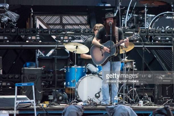 Cody Jinks performs onstage during Rock The South at Heritage Park on June 2, 2017 in Cullman, Alabama.