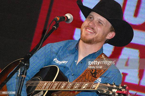 Cody Johnson performs at NFR Cowboy Fanfest 2014 at the Las Vegas Convention Center on December 9 2014 in Las Vegas Nevada