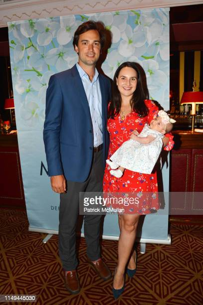 Cody Kittle Alexandra Kittle and Annabelle Kittle attend Deborah Goodrich Royce's Finding Mrs Ford Book Launch at Doubles on June 11 2019 in New York...