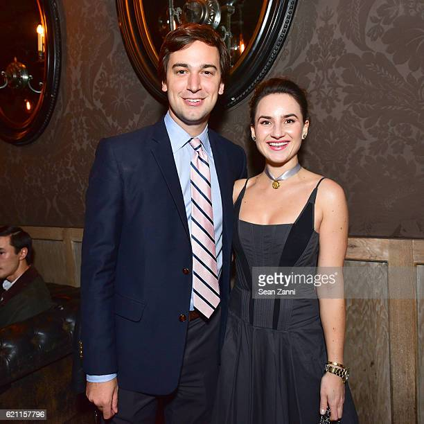 Cody Kittle and Alexandra Porter attend Yellowstone Park Foundation Young Patrons Benefit at Avenue on November 3 2016 in New York City