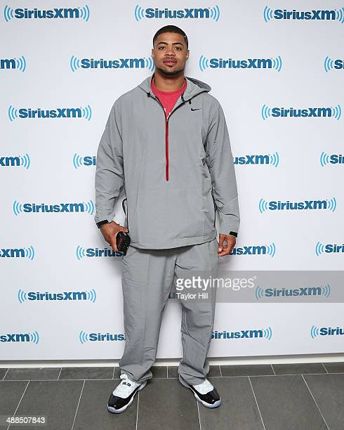 Cody Latimer visits the SiriusXM Studios on May 6 2014 in New York City