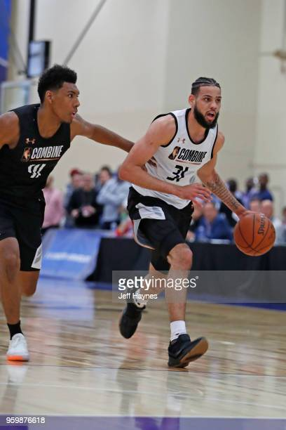 Cody Martin dribbles the ball during the NBA Draft Combine Day 1 at the Quest Multisport Center on May 17 2018 in Chicago Illinois NOTE TO USER User...